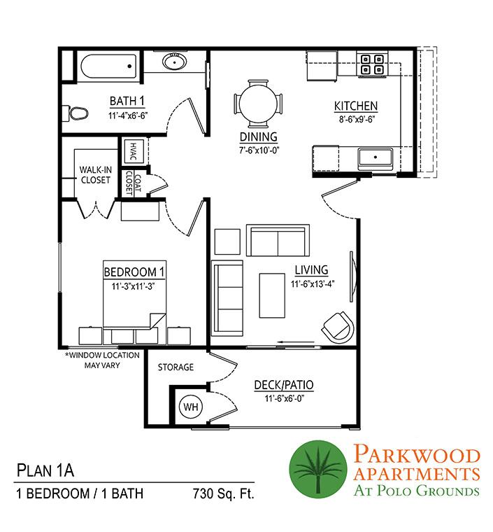 Parkwood Indio Floor Plan 1A