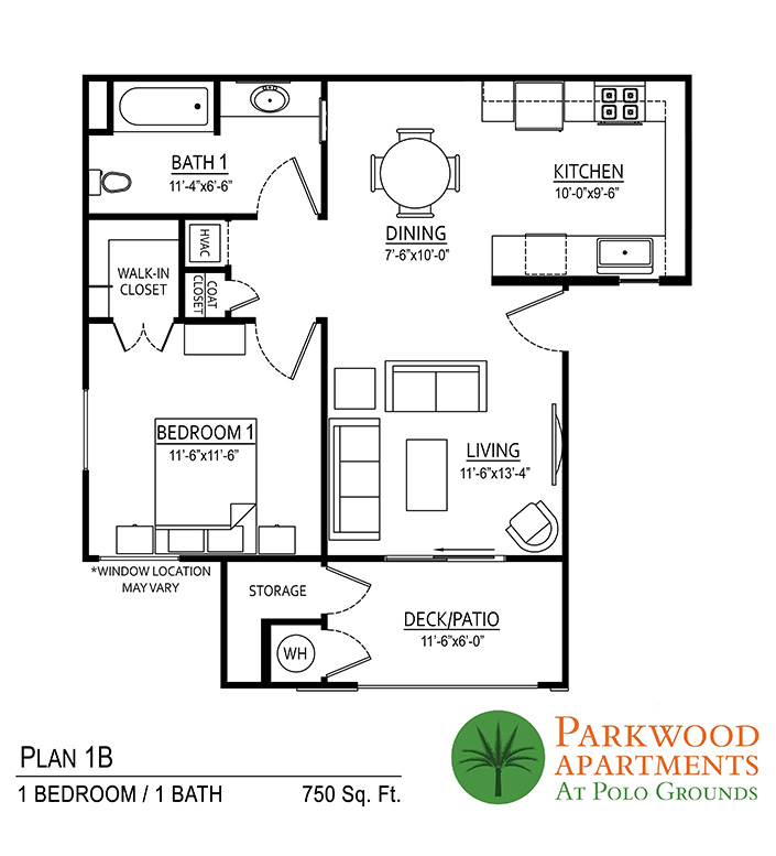 Parkwood Indio Floor Plan 1B