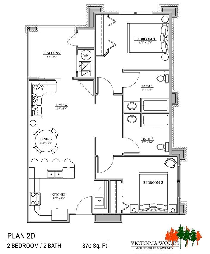 Victoria woods sandy floor plan 2d american housing partners for 100 floors 28th floor
